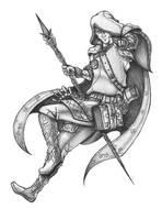 Lindelt - Wizard by s0ulafein