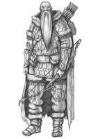 Severin - Human Ranger by s0ulafein