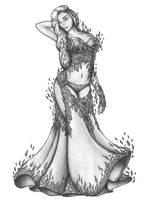 [COMMISSION] Yaren Blademaster in Dress by s0ulafein