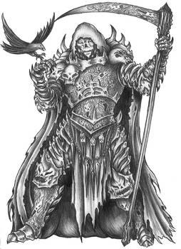 [COMMISSION] Vausk - Tweaked Denieran Death Cleric by s0ulafein