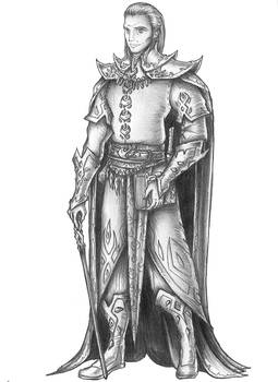 [COMMISSION] Legdoril - Half-demon Wizard by s0ulafein