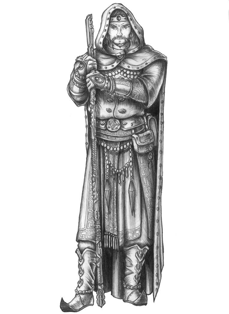 Baldur's Gate - Edwin Odesseiron by s0ulafein