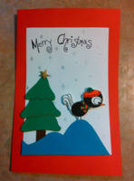 Holiday Card Project 2013 - Berkley Bird by VioletteOwl
