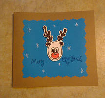 Holiday Card Project 2013 - Richard Rauch by VioletteOwl