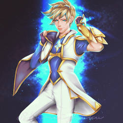 Star Guardian - Ezreal (League of Legends) by shiraishiku