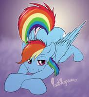 Heya Rainbow by Punk-Pegasus
