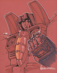 starscream by markerguru