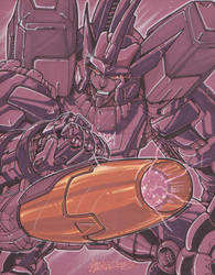 galvatron by markerguru