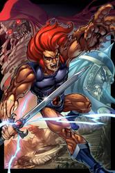 lion O by markerguru