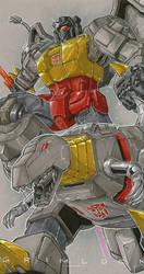 commission grimlock by markerguru