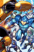 Mega Man Tribute by markerguru