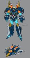 Nominus Prime colour guide by markerguru