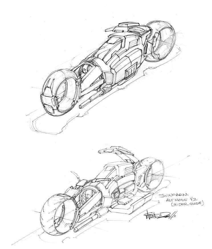 springarm alt mode design by markerguru