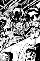 TF MTMTE 08 cover lineart by markerguru