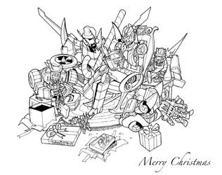 Merry Christmas by markerguru