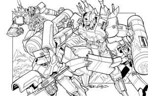 TF Cassette Battle Royal by markerguru