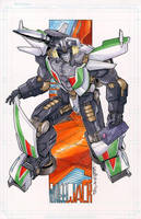 Wheeljack Commission by markerguru