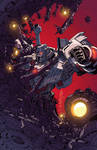 Transformers Lost Light issue 6 Sub cover colours by markerguru