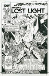 TF Lost Light 13  artist edition cover by markerguru