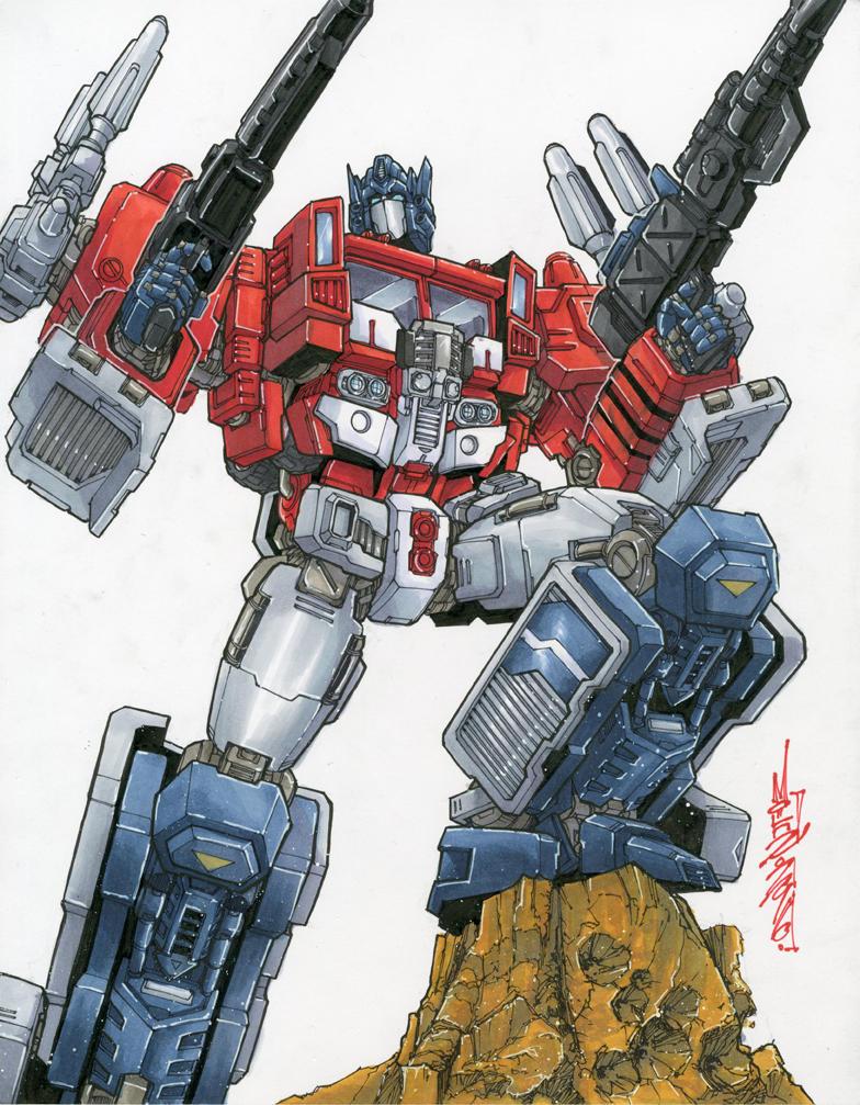 Powermaster Prime Commission by markerguru