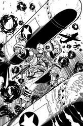Atomic Robo cover by markerguru
