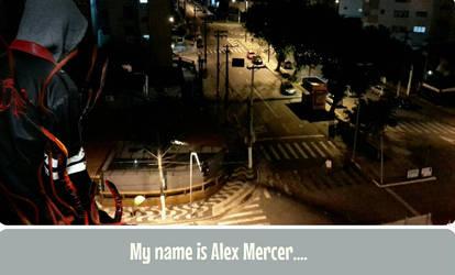 My name is Alex Mercer... Thiago Capella cosplay by marcoscapella
