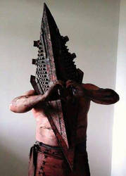 To you with love... Pyramid Head by marcoscapella
