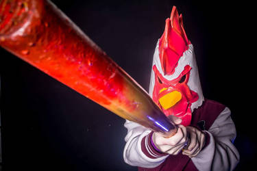 Jacket from Hotline Miami - cosplay by marcoscapella