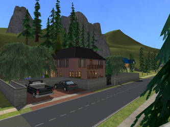 Sims 2 Three Lakes Cabin by GRaff4Ever