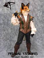 Valentine the Fox by BlueHyena