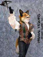 Valenting the Renaissance Fox by BlueHyena