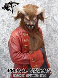 Beast Costume - bows by BlueHyena