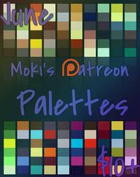 June Patreon Palettes by Mokisaur