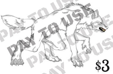 Werewolf Base by Mokisaur