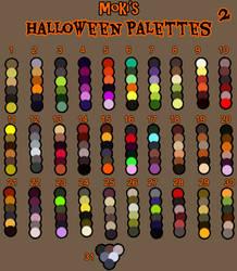 Halloween palettes 2 by Mokisaur