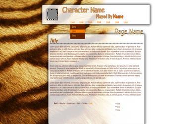 Tiger Fur Template by Mokisaur