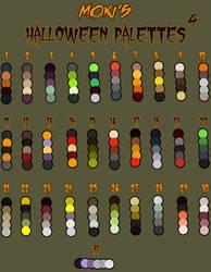Halloween palettes 4 by Mokisaur