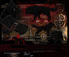 Dallas- wolf form Ref sheet by Dalkur