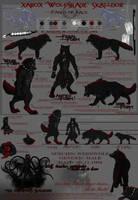 Character sheet Xarox by Dalkur