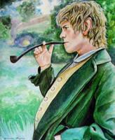 Hobbit Merry by Nastyfoxy