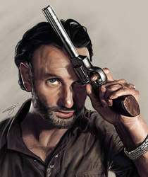 Walking Dead: Rick Grimes by JcWorxInc