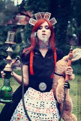 Alice in smoke by Ambioszka