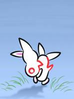 Piggy Back Bunny Skribble by RyanNic