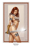 Red Sonja by MitchFoust