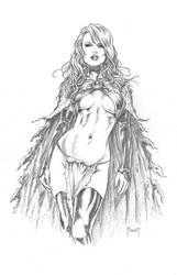 Goblin Queen by MitchFoust