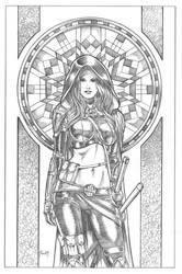 Magdalena SDCC commission by MitchFoust