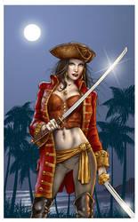 Pirate Vampire by MitchFoust