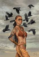 Dark Feathers by MitchFoust