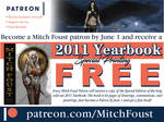 2018 Patreon Pledge Drive by MitchFoust