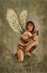 Kainai, Tribal Fairy by MitchFoust
